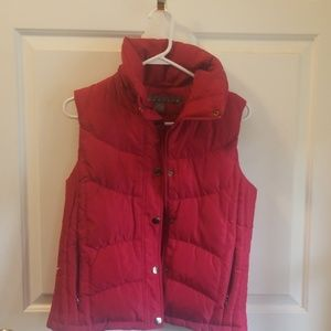 Down filled puffy vest. Size small